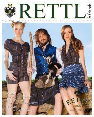 Rettl & friends 2 | Frühjahr/Sommer 2012