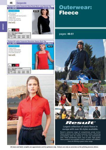 Outerwear: Fleece - logosrusltd.com