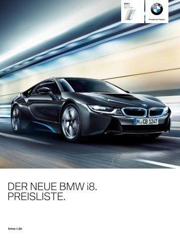 BMW_i8_Preisliste