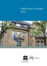 Publications Catalogue 2016