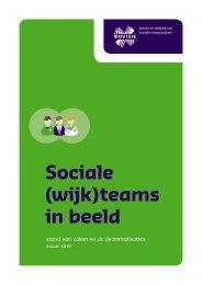 Sociale (wijk)teams in beeld