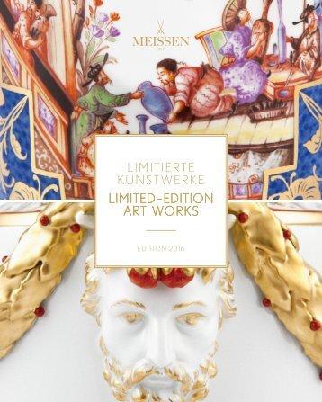 MEISSEN Limitierte Kunstwerke 2016