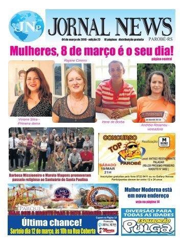 Jornal News Parobé - Edição 23 (04/03/2016)