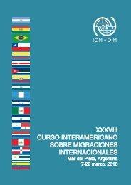 XXXVIII CURSO INTERAMERICANO SOBRE MIGRACIONES INTERNACIONALES