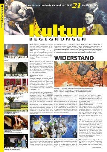 KulturBegegnungen Nr. 21