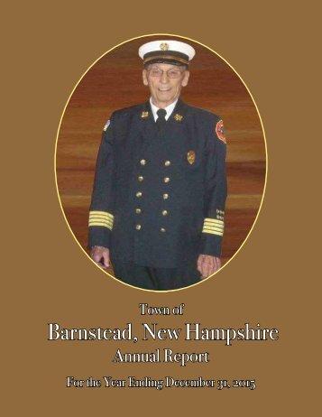 Barnstead New Hampshire