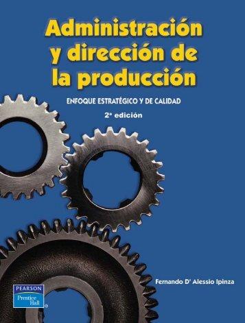 Administración y Dirección de la Producción, Enfoque estratégico y de calidad - Fernando D'Alessio Ipinza, Centrum - PUCP