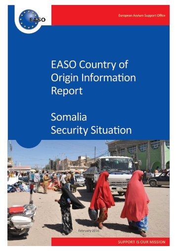 EASO Country of Origin Information Report Somalia Security Situation