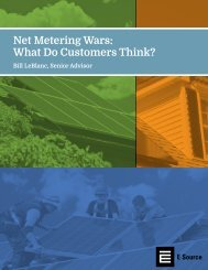 Net Metering Wars What Do Customers Think?