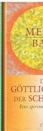 Meher Baba - Der göttliche Plan der Schöpfung opt