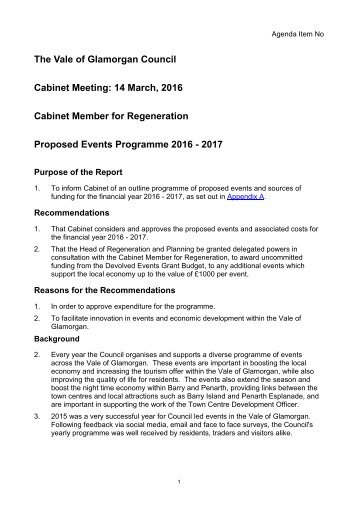 Proposed-Events-Programme-2016-2017-Cabinet-Report