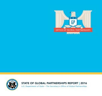 STATE OF GLOBAL PARTNERSHIPS REPORT | 2016