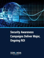 Security Awareness Campaigns Deliver Major Ongoing ROI
