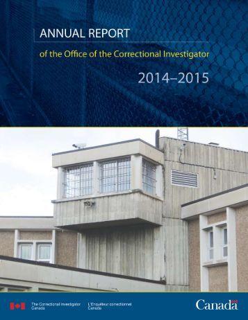 Annual Report 2014–2015 A