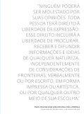 VIOLAÇÕES À LIBERDADE DE EXPRESSÃO - Page 5