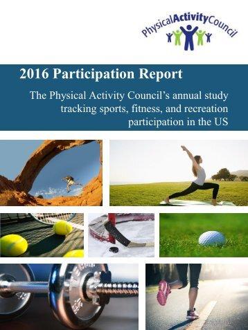 2016 Participation Report