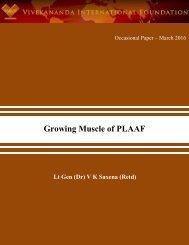 Growing Muscle of PLAAF