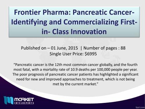 Future Market Trends of Pancreatic Cancer Market Till 2021