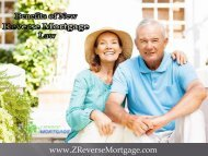 Benefits of New Reverse Mortgage Law - Z Reverse Mortgage