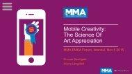 Mobile Creativity The Science Of Art Appreciation