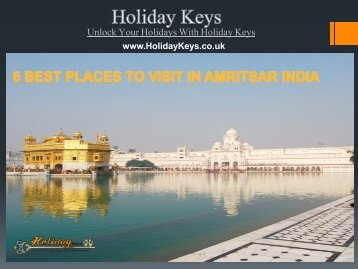 6 Best places to visit in Amritsar India - HolidayKeys.co.uk
