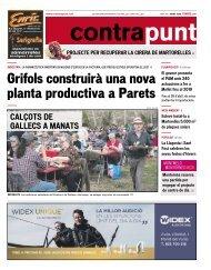 Grifols construirà una nova planta productiva a Parets