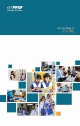 FESF Annual Report 2014-2015