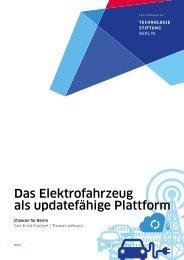 Das Elektrofahrzeug als updatefähige Plattform