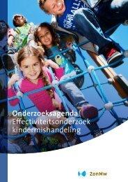 Onderzoeksagenda Effectiviteitsonderzoek kindermishandeling