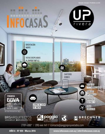 Revista InfoCasas - Número 59 - Marzo 2016