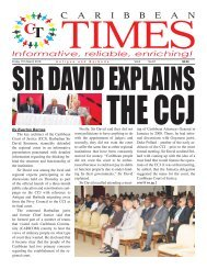 Caribbean Times 67th issue - Friday March 11th 2016