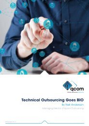 Technical Outsourcing Goes BIO
