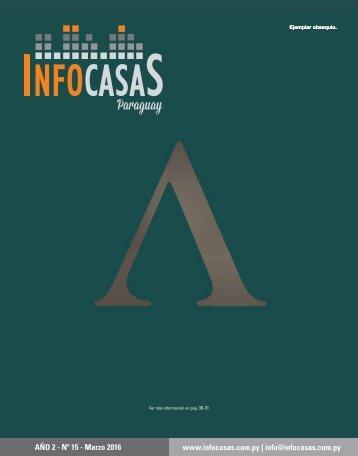 Revista InfoCasas Paraguay - Marzo 2016