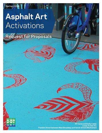 Asphalt Art Activations