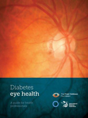 Diabetes eye health