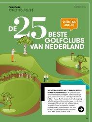 De 25 beste golfclubs van Nederland