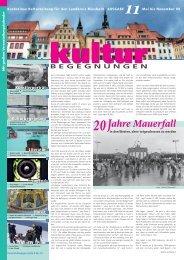 KB Nr. 11 20 Jahre Mauerfall