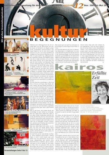 KulturBegegnungen Nr. 12