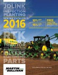 Spring 2016 Martin Sullivan Catalog