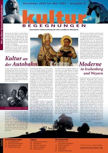 KulturBegegnungen Nr. 06