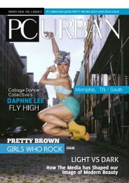 PC Urban Magazine Issue 5 Pretty Brown Girls Who Rock