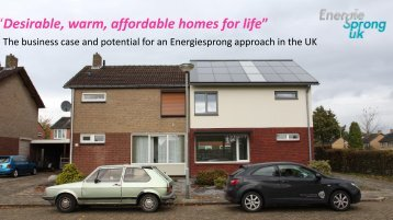 Desirable warm affordable homes for life""