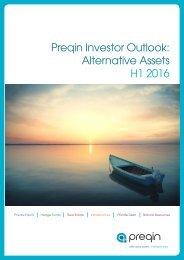 Preqin Investor Outlook Alternative Assets H1 2016
