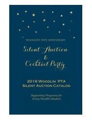 Silent Auction Catalog