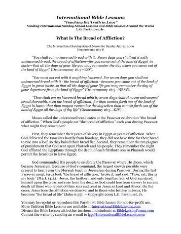 1 free Magazines from INTERNATIONALBIBLELESSONS COM