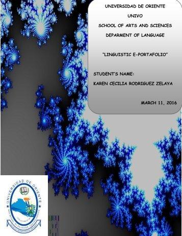 linguistic Eportafolio