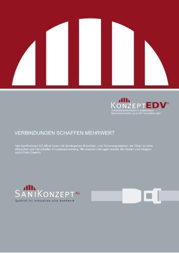 KONZEPT - Die SaniKonzept AG