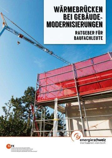 Gebäudemodernisierungen
