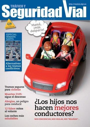 Los hijos nos hacen mejores conductores?
