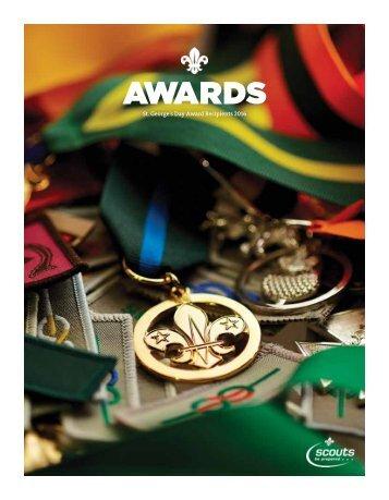 St George's Day Award Recipients 2016